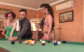 mugur and large boobed cathy heaven educate an