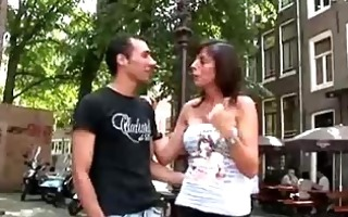horny chap with blonde dutch doxy