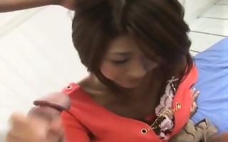 yuna momose performs a mean fellation