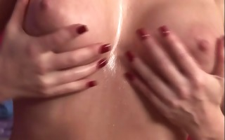 sexy redhead masseuse gives forbidden extras