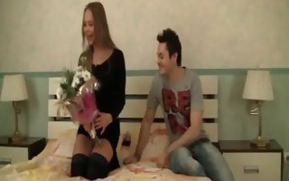 legal age teenager spreads virgin legs