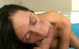 hungry brunette mother i engulfing schlong hard