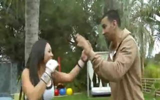 latin chick hottie adriana luna acquires drilled