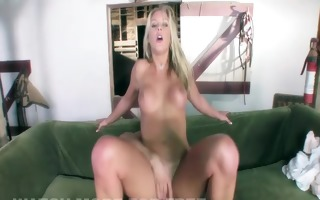 hot blonde squirts shes fucked so hard