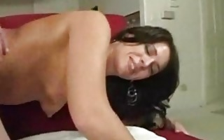 thick cougar with small tits drilled in the