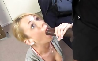 kaylee hilton gets drilled in front of her cuckold