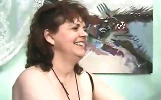 curvy plump older wife wearing darksome stocking