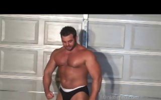 wrestling muscle god
